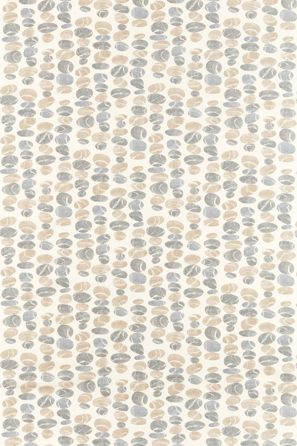 Sanderson Stacking Pebbles Driftwood/Slate Fabric - Product code: 226496