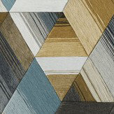 Harlequin Arccos Ochre / Steel Wallpaper - Product code: 111971