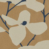 Harlequin Kienze Antique Gold / Ink Wallpaper
