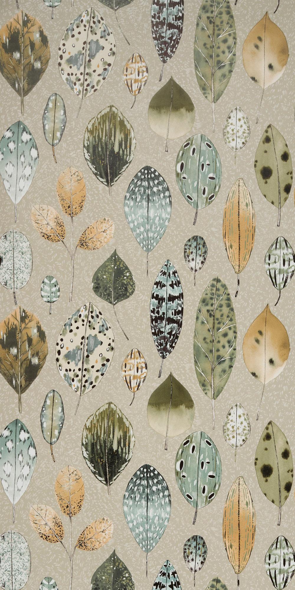 Tulsi Wallpaper - Birch - by Designers Guild