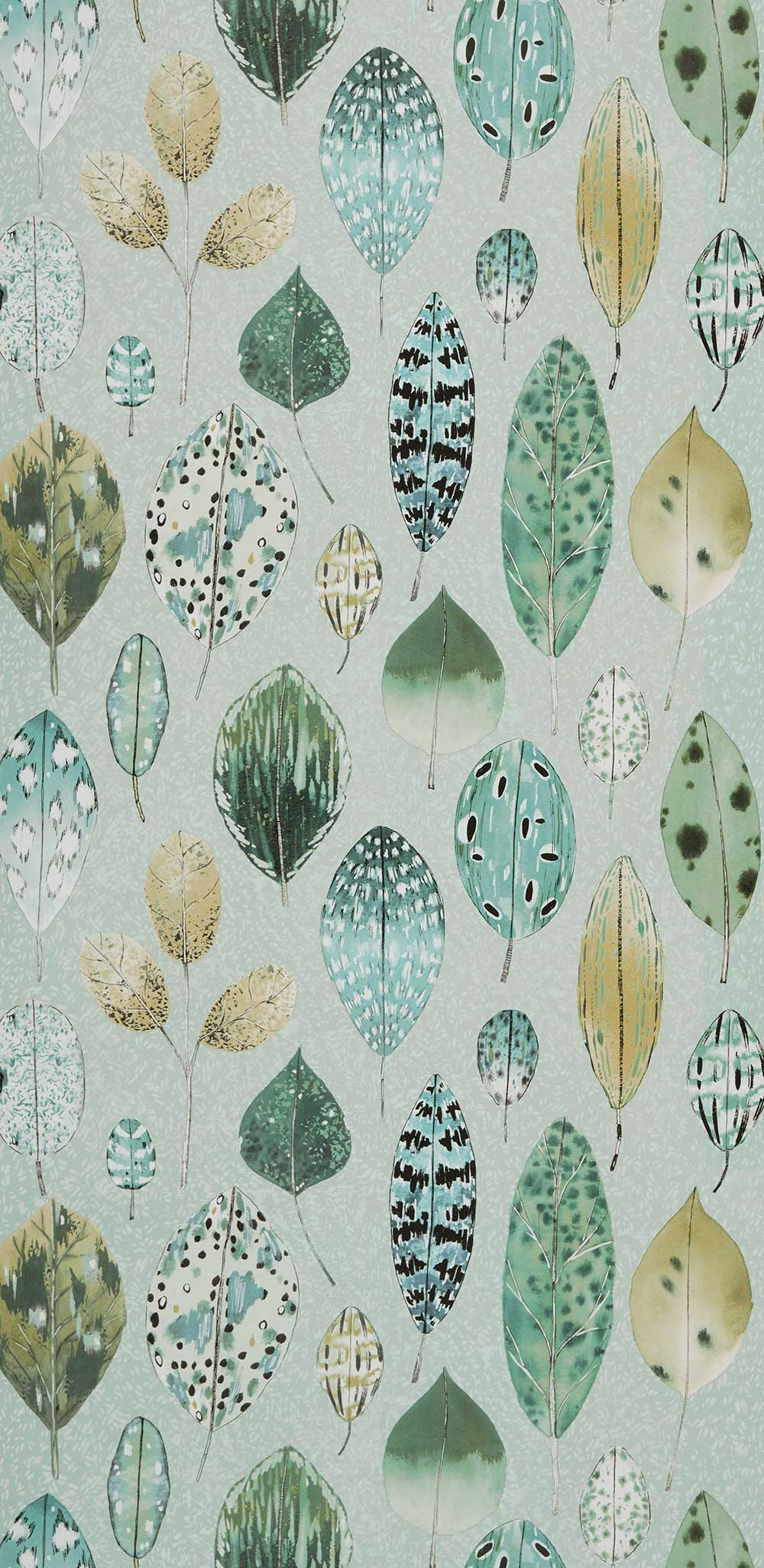 Tulsi Wallpaper - Dove - by Designers Guild