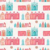 Villa Nova Pink City Wallpaper