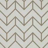 Harlequin Tessellation Slate / Chalk Wallpaper - Product code: 111987