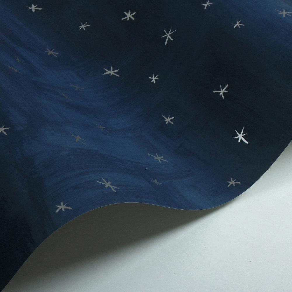 Twinkle Twinkle Wallpaper - Blue - by Villa Nova