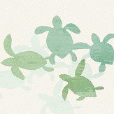 Villa Nova Tiny Turtles Blue / Green Wallpaper - Product code: W584/01