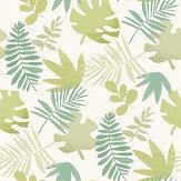 Villa Nova Jungle Jumble Green Wallpaper