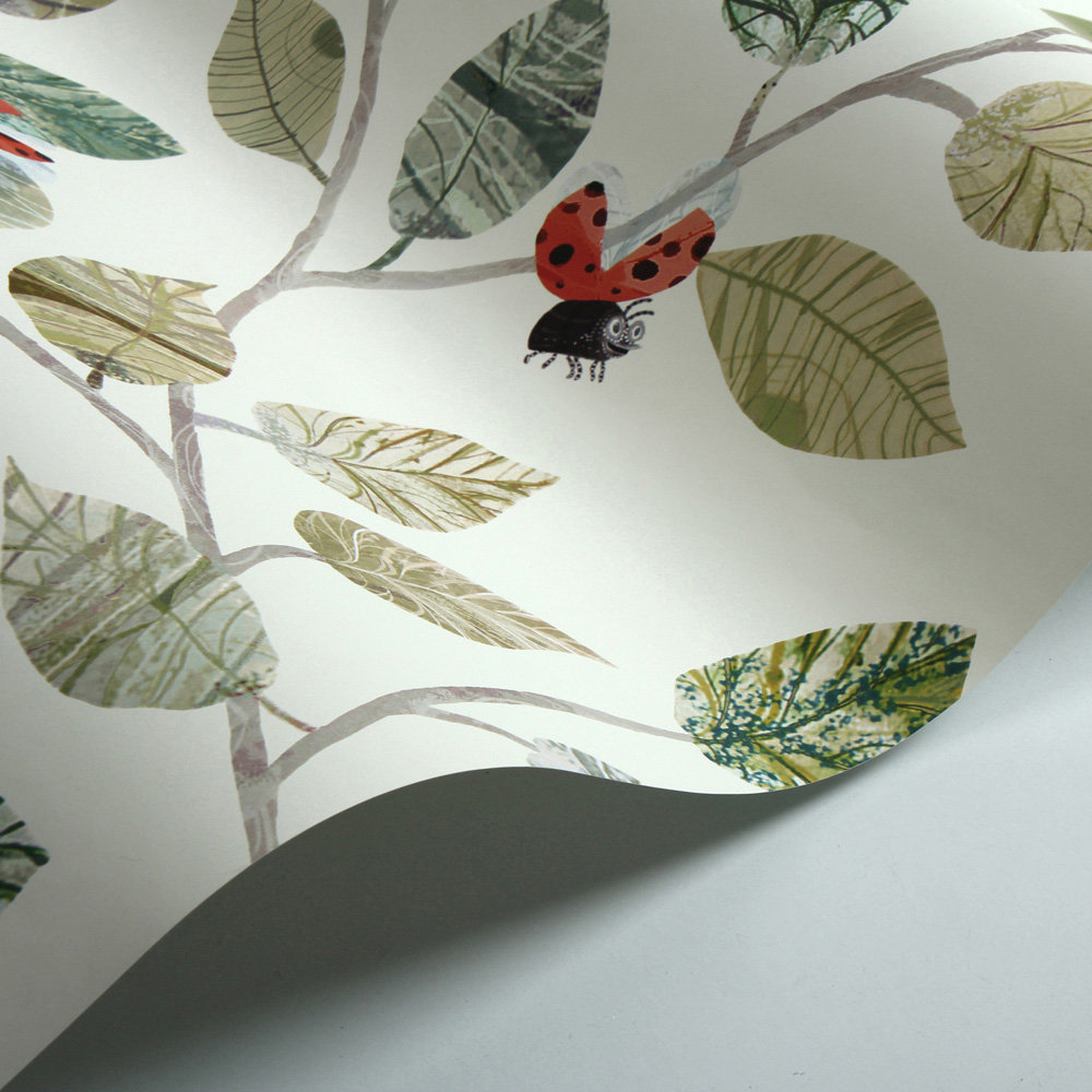 Villa Nova Ladybugs Multi-coloured Wallpaper - Product code: W586/01