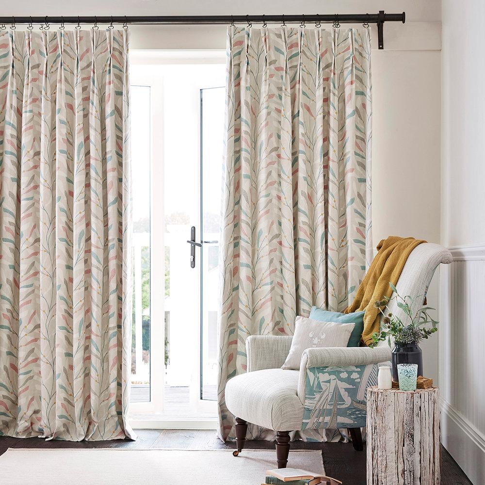 Sanderson Sea Kelp Blush/Stone Fabric - Product code: 226499
