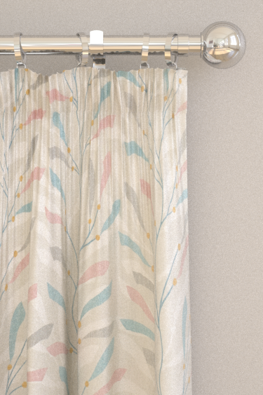 Sanderson Sea Kelp Blush/Stone Curtains - Product code: 226499