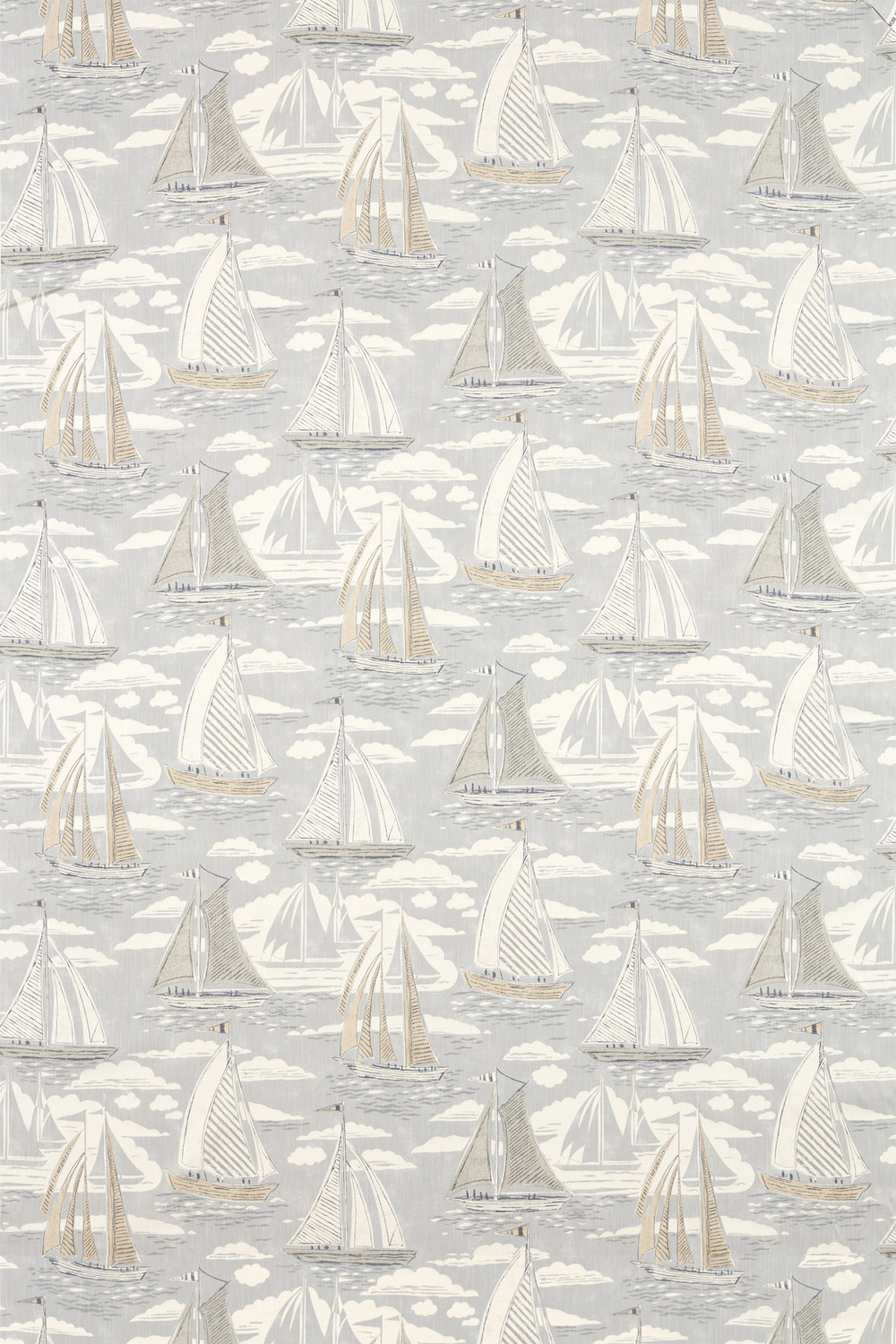 Sanderson Sailor Gull Fabric - Product code: 226501