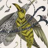 Clarke & Clarke Audubon Gold Fabric - Product code: F1108/02