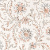 Nina Campbell Baville French Grey Wallpaper