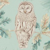 Sanderson Owlswick Whitstable Blue Wallpaper