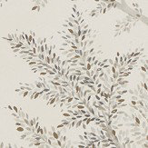 Sanderson Farthing Wood Silver Wallpaper