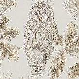 Sanderson Owlswick Linen Wallpaper - Product code: 216598