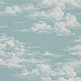 Sanderson Silvi Clouds Sky Wallpaper