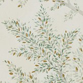 Sanderson Farthing Wood Sage Grey Wallpaper