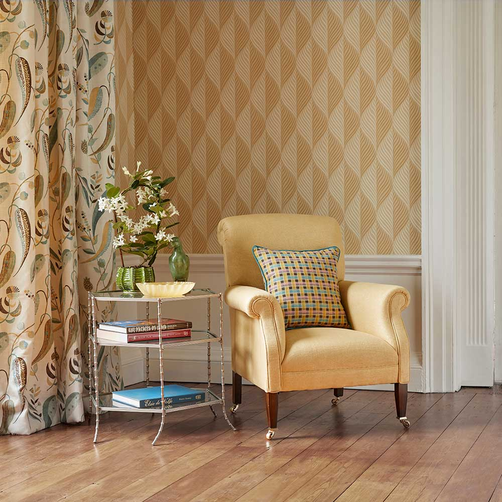 Nina Campbell Bonnelles Yellow Wallpaper - Product code: NCW4352-04