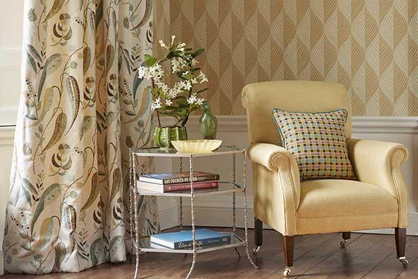 Nina Campbell Bonnelles Yellow Wallpaper