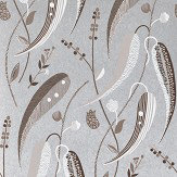 Nina Campbell Colbert Taupe/ Ivory Wallpaper