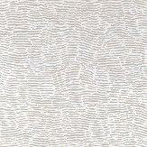 Nina Campbell Arles Dove/ Silver Wallpaper