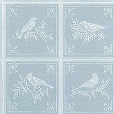 Nina Campbell Fortoiseau Aqua Wallpaper - Product code: NCW4356-04