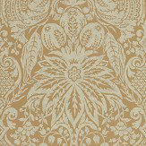 Zoffany Mitford Damask Antique Gold Wallpaper