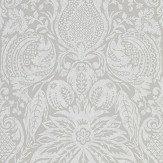 Zoffany Mitford Damask Platinum Grey Wallpaper - Product code: 312863