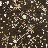 Zoffany Chambalon Antique Gold / Vine Black Mural