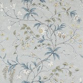 Zoffany Chambalon Mercury / Platinum Grey Mural