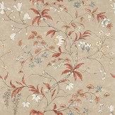 Zoffany Chambalon Sunstone / Linen Mural - Product code: 312852