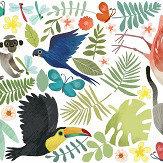 Villa Nova Jungle Jumble Multi-coloured Sticker
