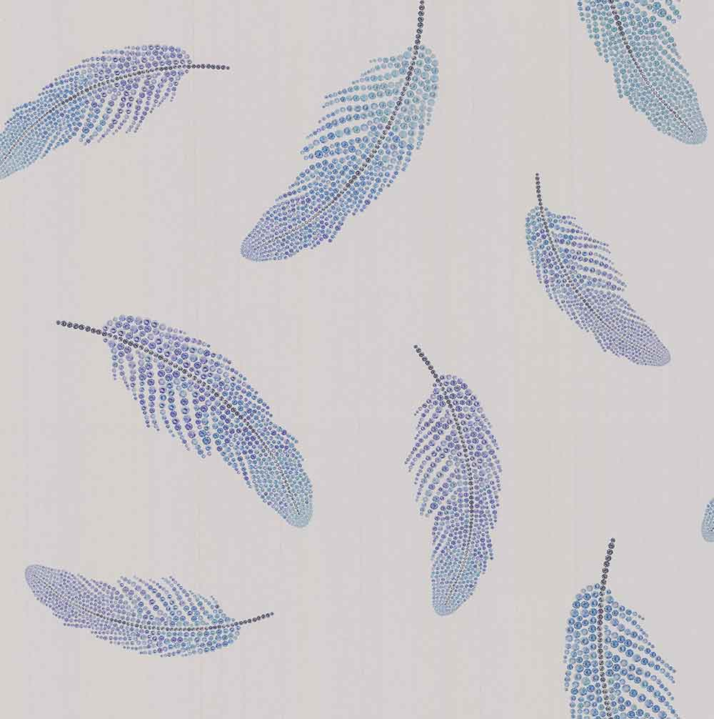 Matthew Williamson Adornado Parchment/ Amethyst/ Jade Wallpaper - Product code: W7261-03