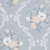 Matthew Williamson Almudaina Grey/ Pale lemon/ Ice Wallpaper - Product code: W7264-01