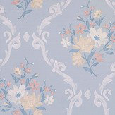 Matthew Williamson Almudaina Pale Grey/ Buttermilk Wallpaper - Product code: W7264-02