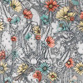 Matthew Williamson Cactus Garden Pale Taupe Wallpaper - Product code: W7268-02