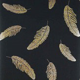 Matthew Williamson Adornado Charcoal/ Amber/ Citrine Wallpaper - Product code: W7261-06