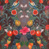 Matthew Williamson Talavera Plum/ Rich Mint Wallpaper - Product code: W7263-03
