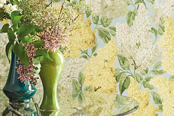 Cole & Son Lilac Lemon / Old Olive Wallpaper - Product code: 115/1003