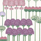 Cole & Son Allium Mulberry / Blush / Lilac Wallpaper