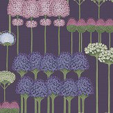 Cole & Son Allium Mulberry / Heather / Violet Wallpaper - Product code: 115/12036