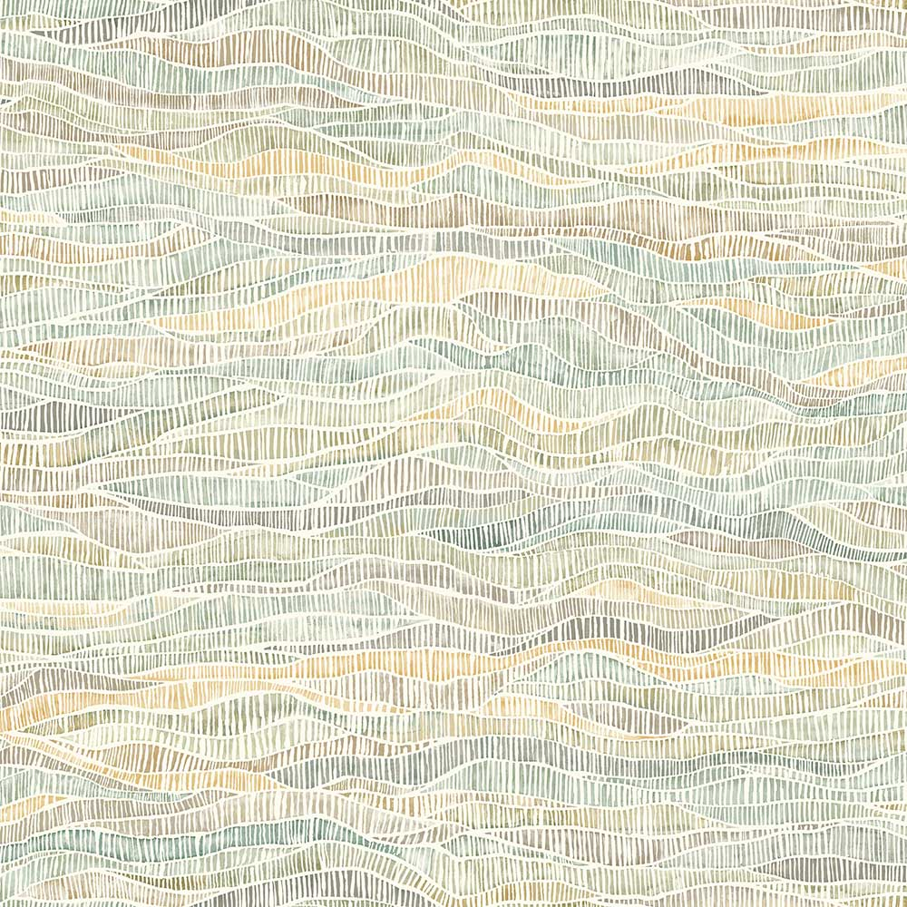 Cole & Son Meadow Buttercup / Sage Wallpaper main image