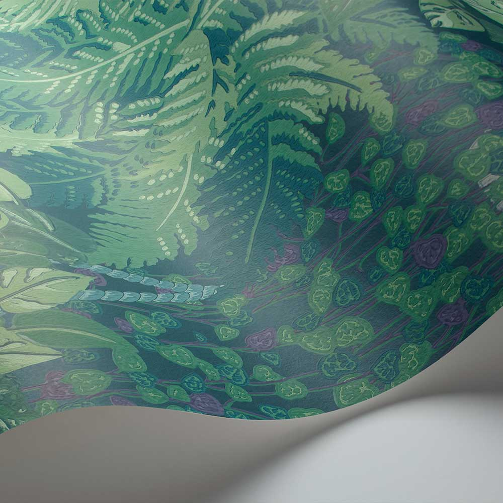 Cole & Son Fern Viridian / Teal Wallpaper - Product code: 115/7022
