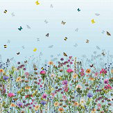 Matthew Williamson Deya Meadow Sky Blue Mural - Product code: W7265-01