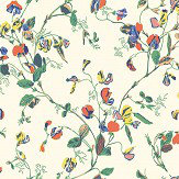 Cole & Son Sweet Pea Autumnal Multi Wallpaper