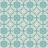 Casadeco Oscar Mint Blue Wallpaper