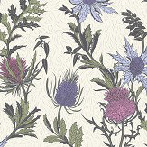 Cole & Son Thistle Lilac / Cerise Wallpaper - Product code: 115/14044