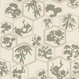 Farrow & Ball Shouchikubai  Treron / Jitney Wallpaper - Product code: BP 4506