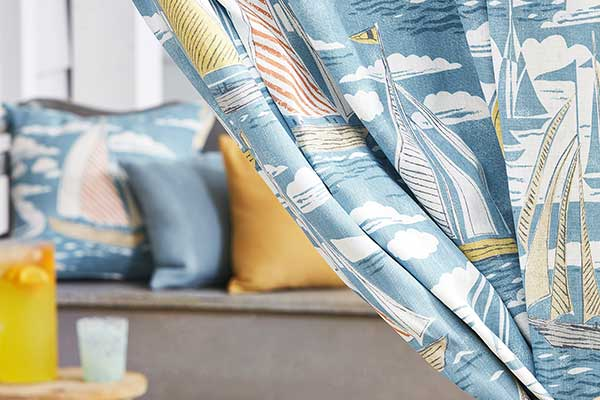 Sanderson Sailor Pacific Fabric - Product code: 226502