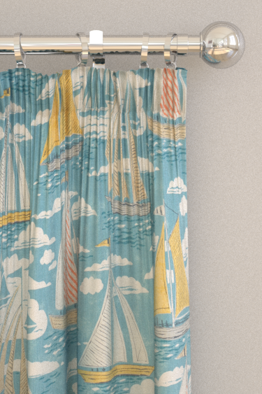 Sanderson Sailor Pacific Curtains - Product code: 226502